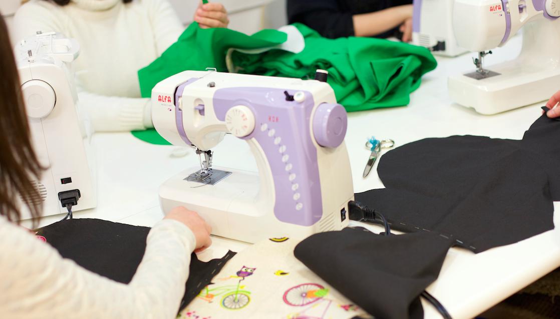 Clases de costura por horas con flexibilidad horaria Bilbao